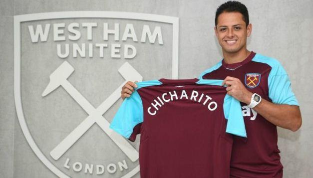 ¿Jiménez, compañero de Chicharito en West Ham?