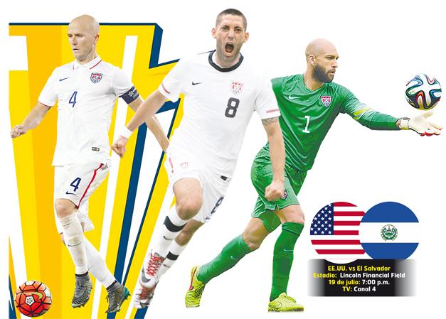 Estados Unidos hace cambios para cuartos de final en Copa de Oro