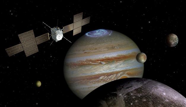 Duendes y elfos de luz se observan en la atmósfera de Júpiter