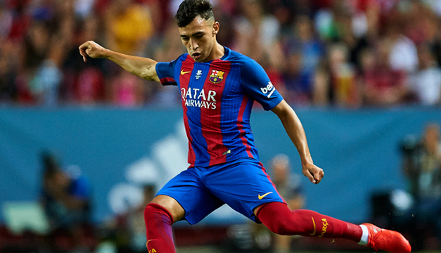 Gerard Deulofeu firma su contrato con el Barcelona hasta el 2019