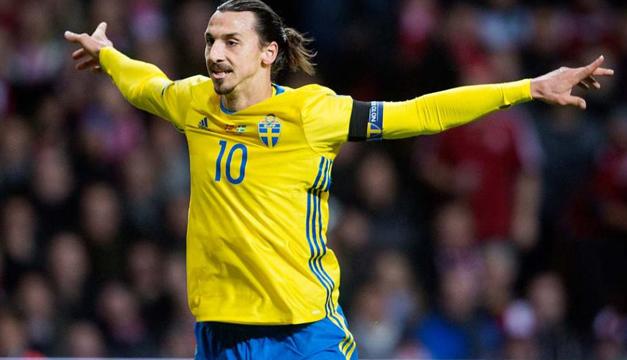 Zlatan Ibrahimovic, la cara de un billete sueco