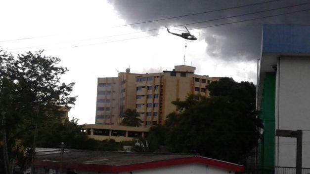 Controlan incendio en Ministerio salvadoreño de Hacienda