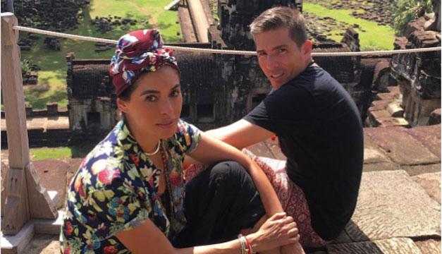 'Amor a primera vista': Galilea Montijo se enamoró en Tailandia (FOTOS)