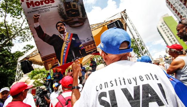Constituyente de Venezuela ratifica a Nicolás Maduro como presidente del país (+ Fotos)