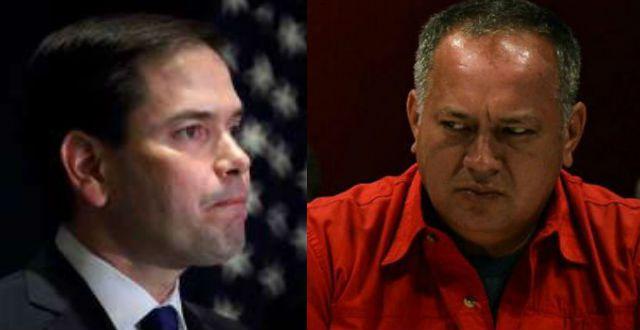 El Nuevo Herald: Diosdado Cabello habría ordenado atentar contra Marco Rubio