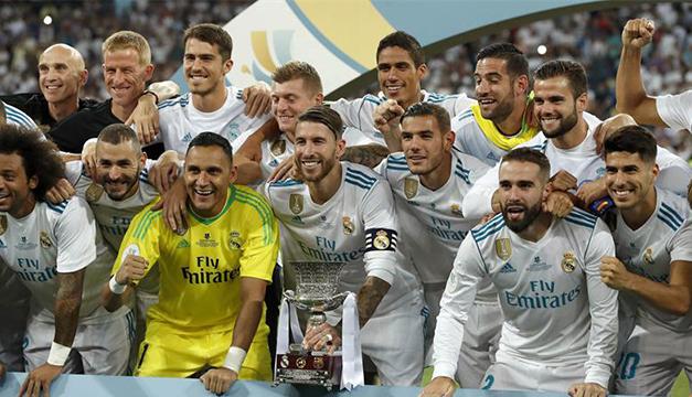 Resultado de imagen para REAL MADRID CONQUISTA LA SUPERCOPA DE ESPAÑA 2017
