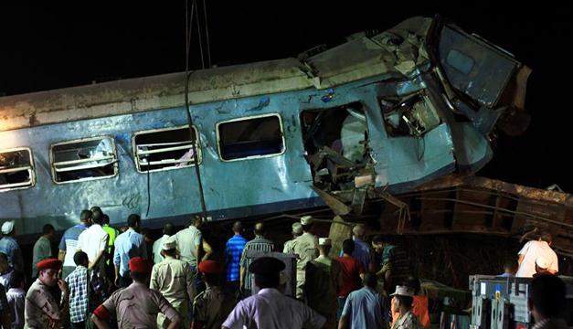 Choque de trenes deja al menos 20 muertos — Egipto