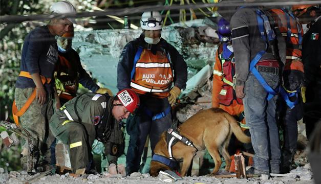 Continúan labores de rescate en cinco zonas de la CDMX: Mancera