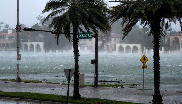 El huracán Irma devastó Antigua y Barbudas