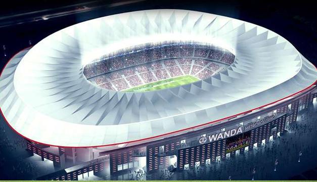 Atlético de Madrid estrenará el Wanda Metropolitano