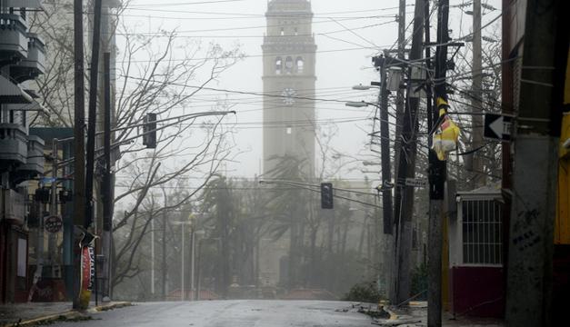 Puerto Rico se encuentra devastado tras el paso de María