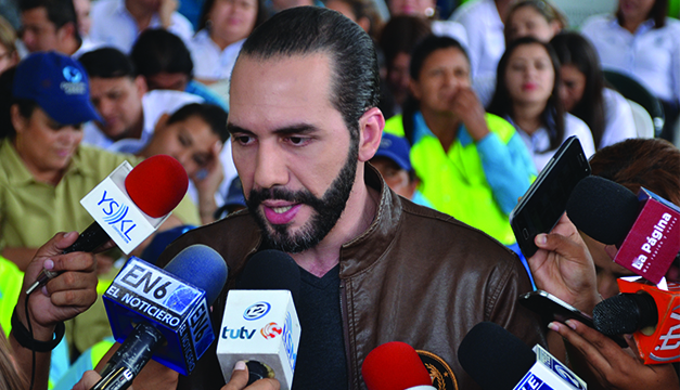 Suspenden proceso judicial en contra de Nayib Bukele