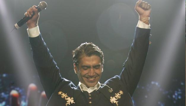 Terremoto en México afectó el concierto de Alejandro Fernández