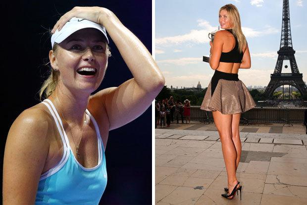 maria sharapova news workout video gym france 621813