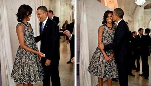 El romántico mensaje de Michelle a Obama en su 25 aniversario