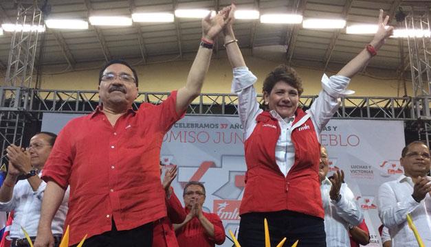 Candidata del FMLN ratifica al pueblo como referente político