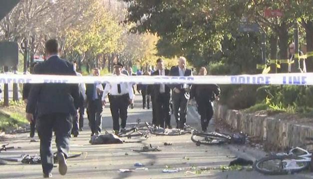 Resultado de imagen para Ocho muertos y varios heridos por acto terrorista en Manhattan