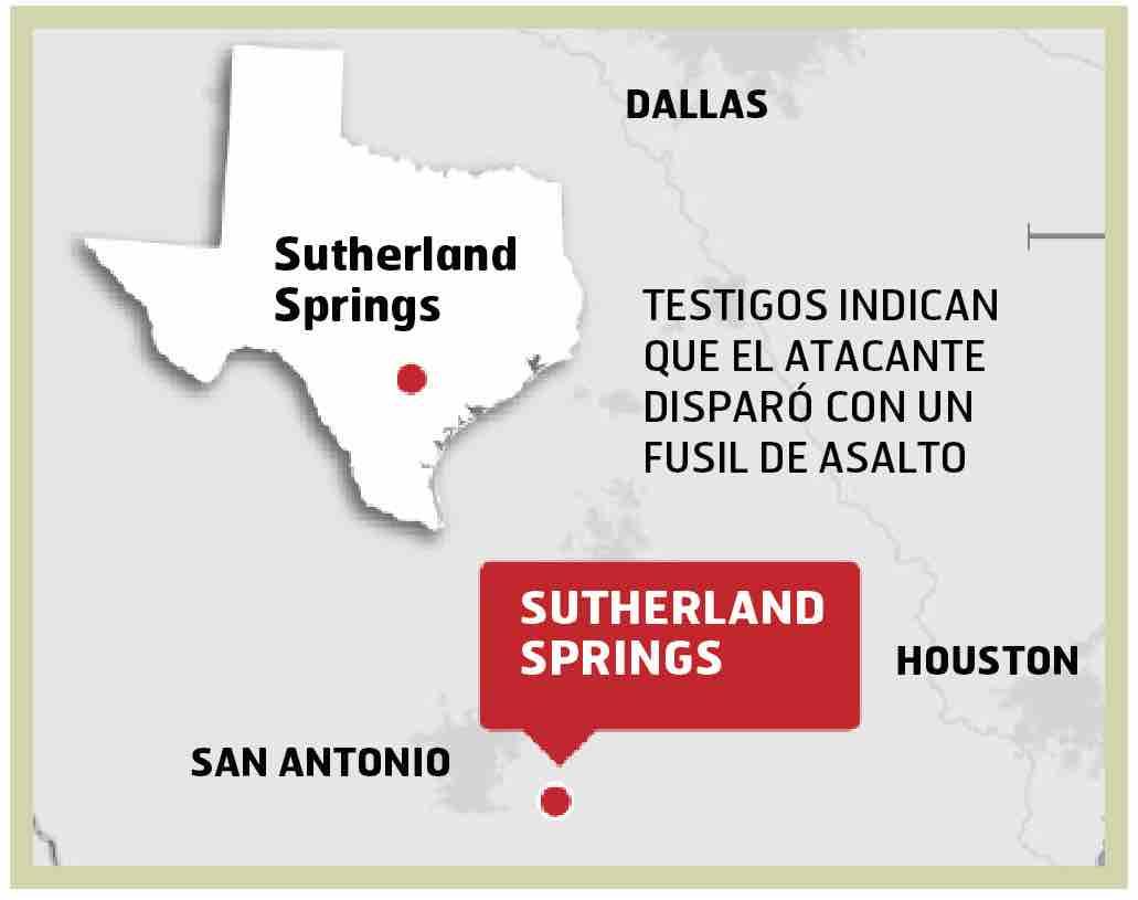 Masacre en iglesia de Texas se salda con 26 muertos   Diario El Mundo