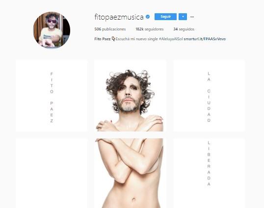 Fito Páez revela controversial portada de su próximo disco La Ciudad Liberada