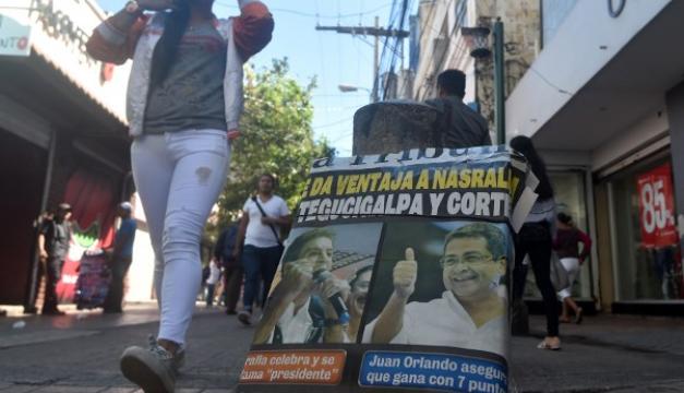 Los hondureños votan para elegir presidente