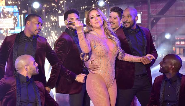 Se redime Mariah en Año Nuevo