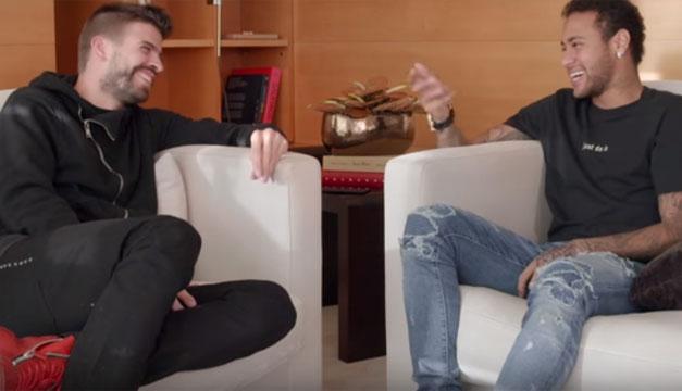 Piqué lanzó su proyecto de entrevistas