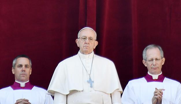 El papa pide diálogo en Venezuela y en Medio Oriente