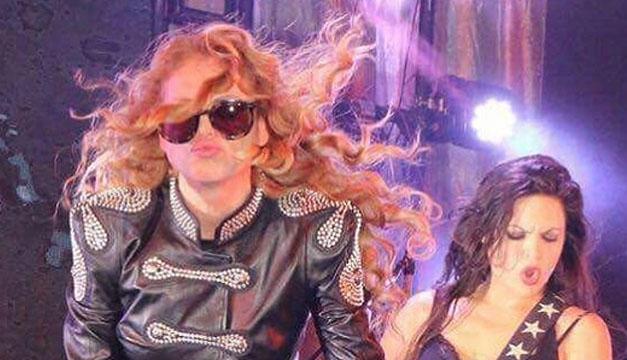 Paulina Rubio y Cyndi Lauper comparten el escenario