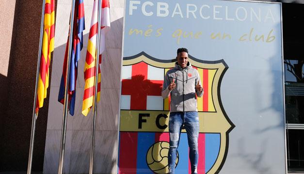Yerry Mina será nuevo compañero de Lionel Messi en el Barcelona