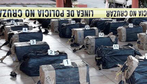 Droga encontrada en Acajutla está valorado en más de $17 millones