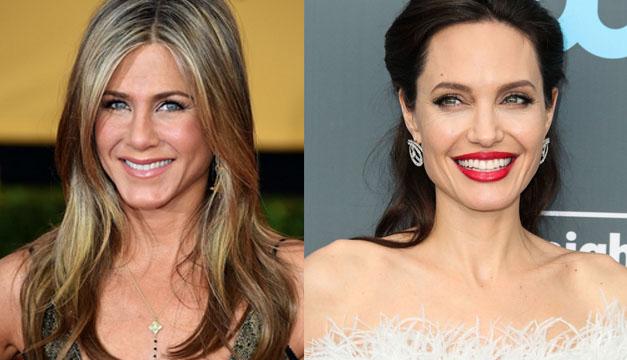 ¡No creerás la respuesta! Quién besa mejor: Angelina Jolie o Jennifer Aniston