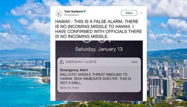Despedido funcionario que lanzó falsa alerta de misil en Hawái