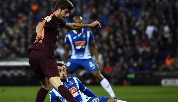 Sergi Roberto renueva con Barcelona hasta 2022