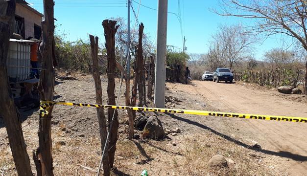 Pandilleros matan a balazos a policía en Cabañas
