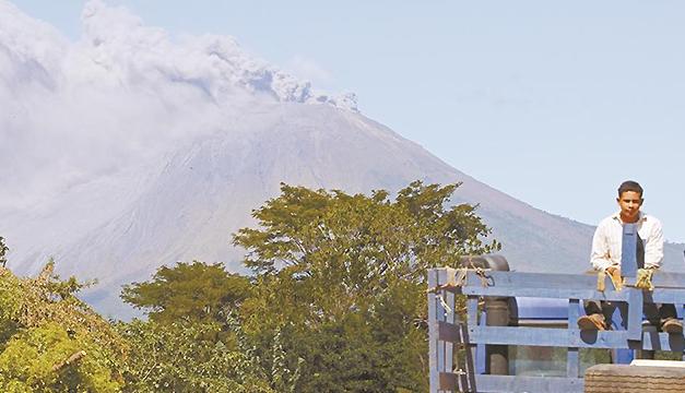 Ineter alerta de explosiones en el volcán San Cristóbal
