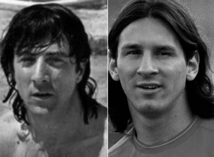 El famoso actor con un gran parecido con Lio Messi