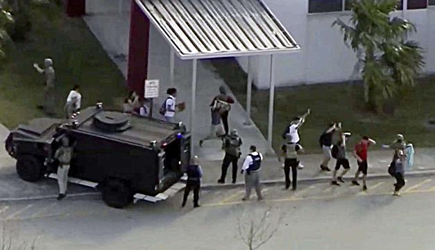 Tiroteo en escuela de Florida deja varios muertos y decenas de heridos