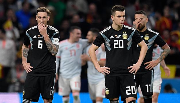 Videos: España no perdona y golea a Argentina