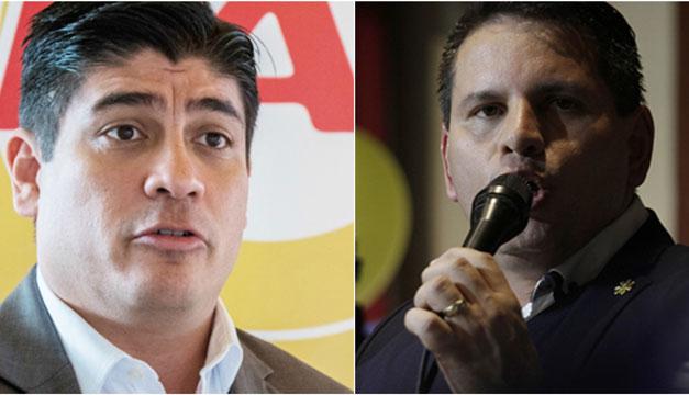 Virtual empate entre candidatos a segunda vuelta electoral en Costa Rica