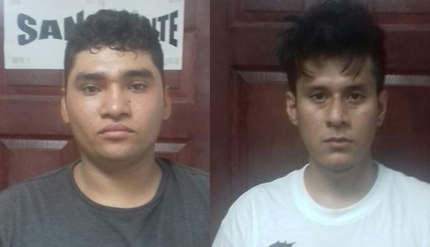 Dos jóvenes detenidos por posesión de droga en San Vicente