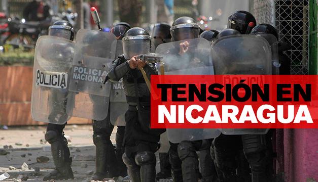 Día negro para Nicaragua: Diez muertos dejan enfrentamientos contra el Gobierno