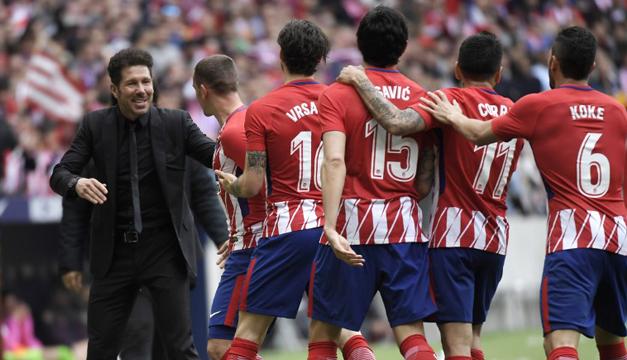 Real Sociedad da duro golpe al Atlético de Madrid