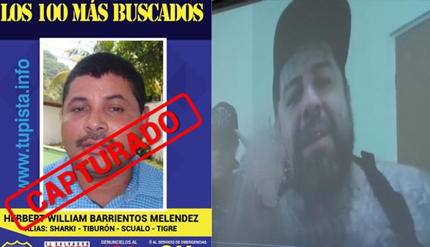 Arrestan a peligroso cabecilla criminal en El Salvador