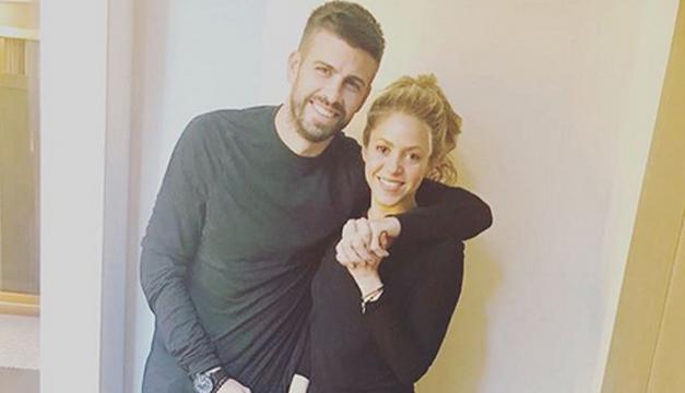 Parece que Piqué aprovechó el tiempo que Shakira salió de gira