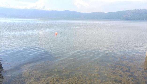 Alertan sobre cianobacteria en lago salvadoreño Coatepeque