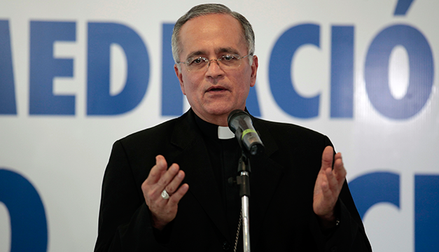 Obispos se retiran del diálogo en Nicaragua
