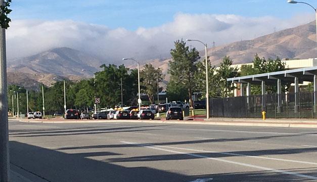 Un herido por tiroteo en escuela de Los Ángeles