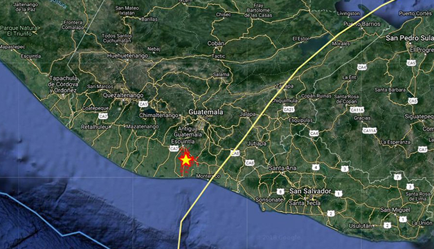 Fuerte sismo se siente en Chiapas