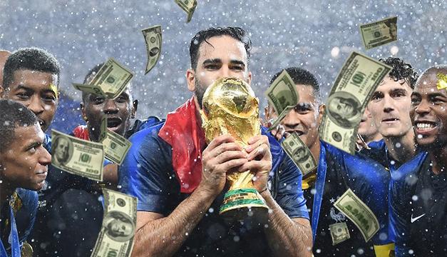 Los millones que se embolsa Francia por ser campeón de Rusia 2018