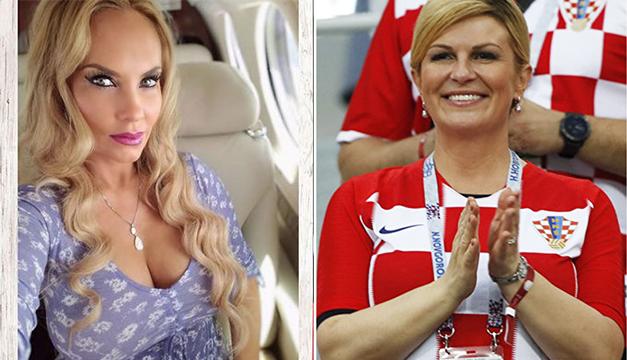 """Confunden a presidenta de Croacia con la esposa de Ice-T y sus """"sexys"""" fotos en la playa"""